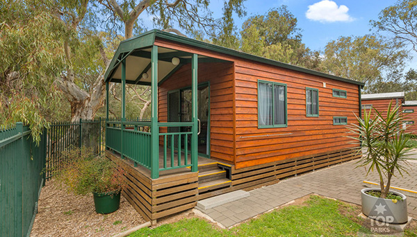 Riverside Cabin feature