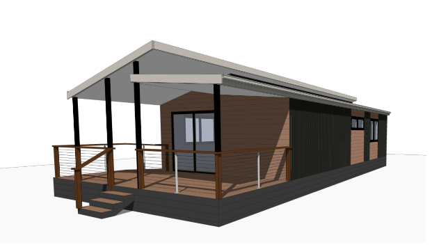 adelaide fully accessible cabin